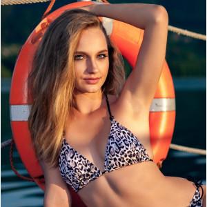 Triangle bikini top~BENGAL~DR161